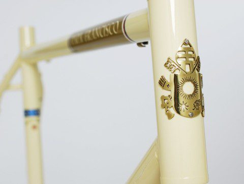 Pope Francis bicycle