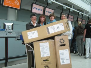 A Canadian seniors' group travelling to Cuba with bikes donated to the Bikes for Cuba project. Photo provided by Jeff Reid