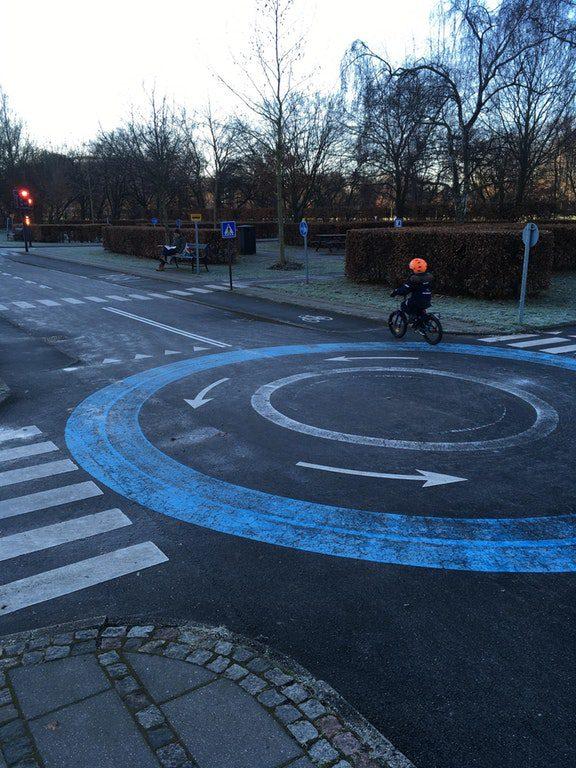Copenhagen bike playground