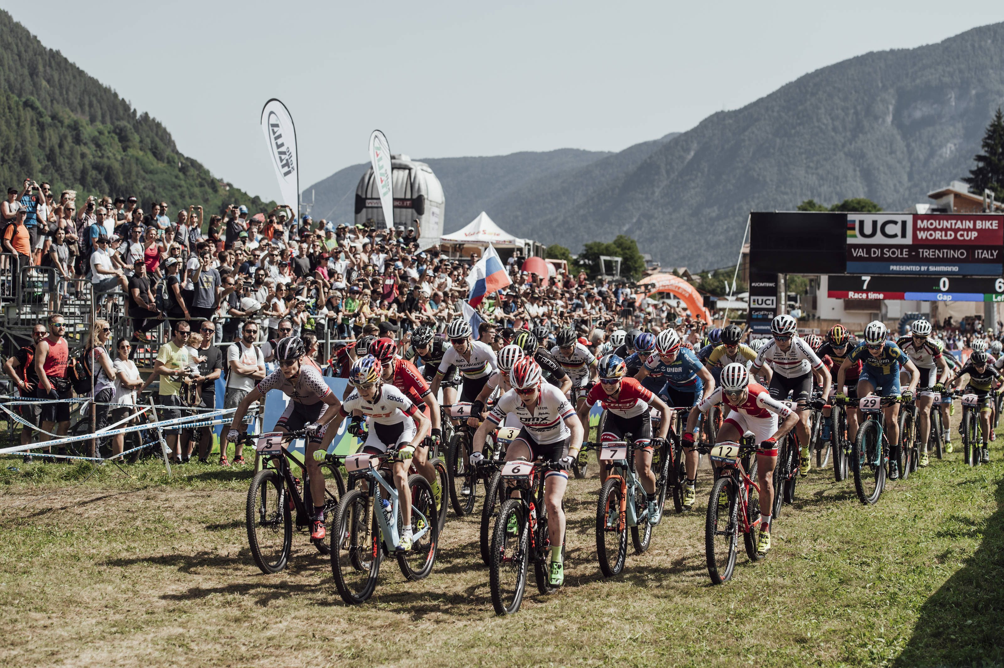 val di sole italy world cup XCO
