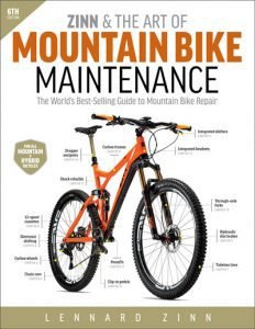 Zinn & the Art of Mountain Bike Maintenance 6th ed Lennard Zinn