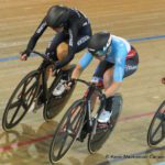 Allison Beveridge wins bronze in London World Cup omnium