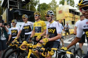 29-07-2018 Tour De France; Tappa 21 Houilles - Paris; 2018, Team Sky; Geraint, Thomas; Froome, Christopher; Paris;