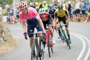 18-01-2019 Tour Down Under; Tappa 04 Unley – Campbelltown; 2019, Ef Education – First; Woods, Michael; Corkscrew;