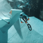 Snowstyle: Fabio Wibmer takes on a slopestyle ski course