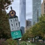 There's a new 1,210 km bike trail that runs from Canada to New York City